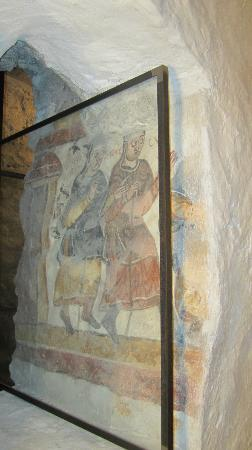 Basilika St. Mang: The oldest mural in Germany.St Mang Crypt.