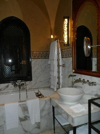 La Mamounia Marrakech: Bathroom