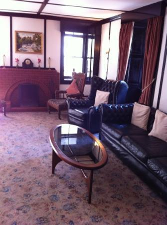 The Lagg Hotel: cosy lounge
