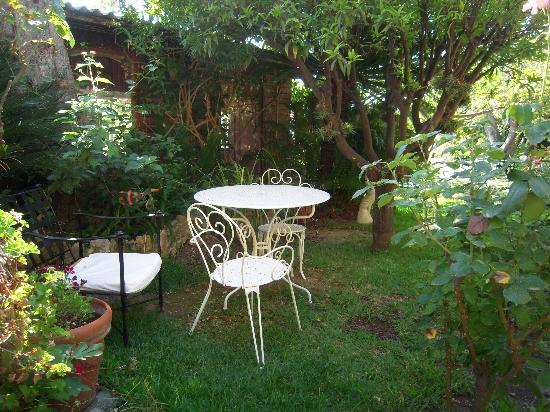 Hotel Bagatelle: le jardin