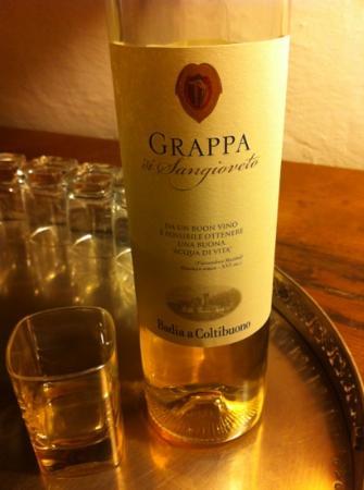 Villa Aruch: Free Grappa!