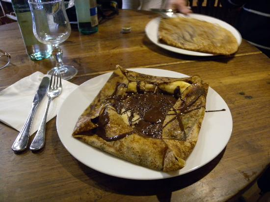Creperie des Artisans: Chocolate and banana