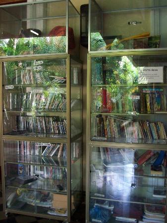 Hostel Oasis: Biblioteca