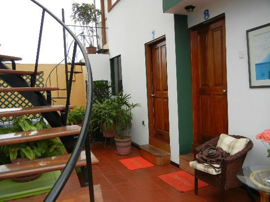 Peru Star Apartments Hotel: otside room