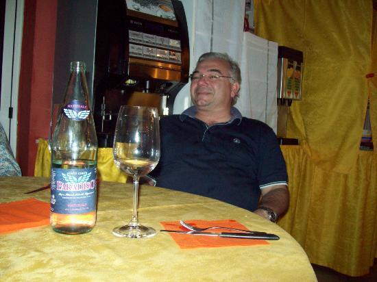 Hotel Ciao Bed & Breakfast: Mine host Aldo