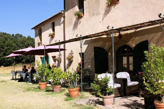 B&B La Canonica di San Michele: la terrasse du ptit déj'