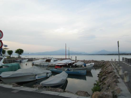 Hotel Puccini: Small marina 2 mins from hotel next to beach