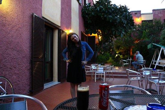 Hotel Abbaruja : lovely hatel garden
