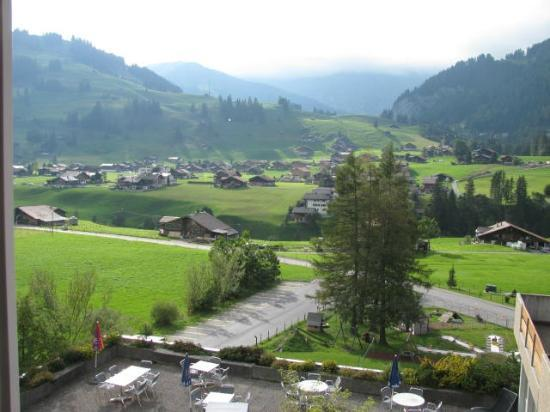 Hotel Alpina: View from our window