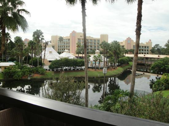 Hilton Orlando Buena Vista Palace Disney Springs: View from room