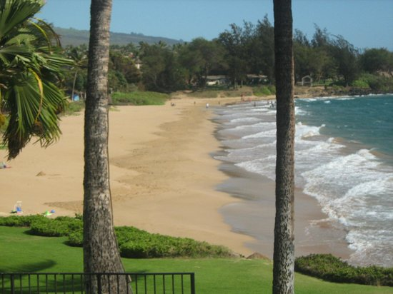 Kamaole Nalu Resort: View of Beach 2 from Unit #206 Lanai