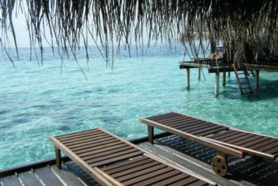 Adaaran Club Rannalhi: View from the water bungalow