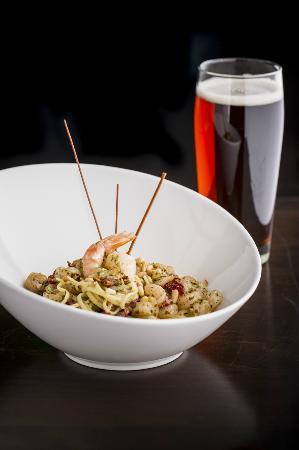 Restaurant Le Manoir : Pesto crevettes