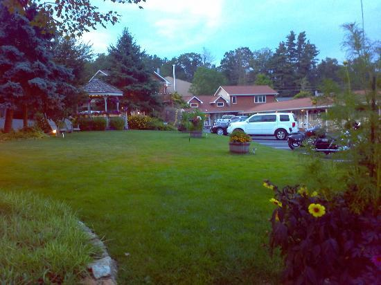 Alpine Village Inn: On the lawn