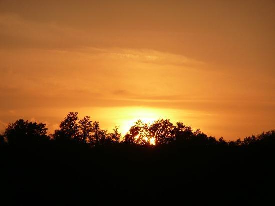 Il Paretaio: tramonto