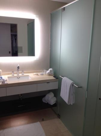 Hotel Arista at CityGate Centre: bathroom, large shower