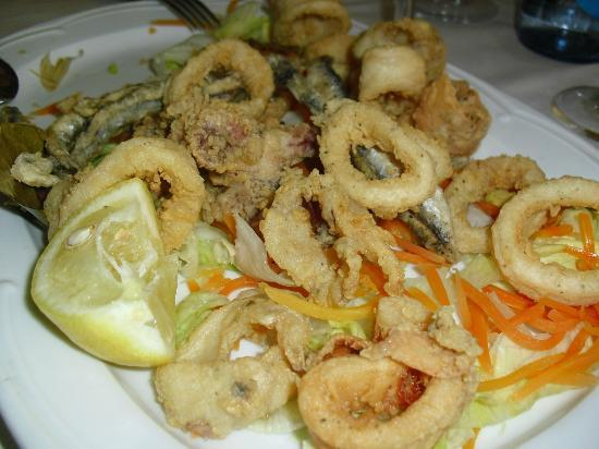 Restaurante portobello: calamares muy ricos