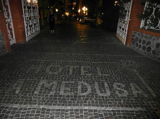 La Medusa Hotel & BoutiqueSpa: Front Gates