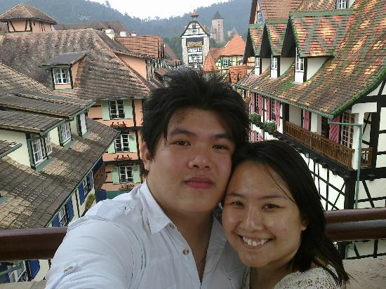Colmar Tropicale, Berjaya Hills: Great view from the tower