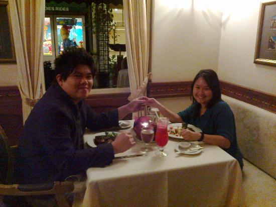 Colmar Tropicale, Berjaya Hills: Romantic dinner at La Cigogne