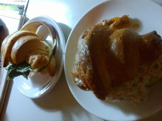 Colmar Tropicale, Berjaya Hills: Chicken ham croissants, so delicious! Worth every penny!