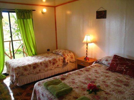 Cabanas Hinariru Nui: Habitacion triple