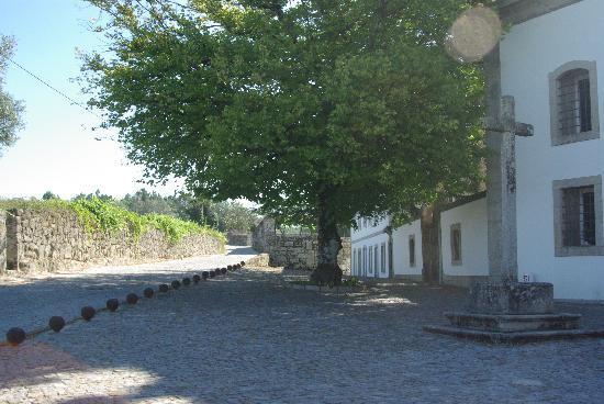 Pousada de Vila Pouca da Beira: vista do Convento do Desagravo