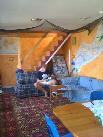 Kip & Kaboodle Backpacker Hostel: Aufenthaltsraum