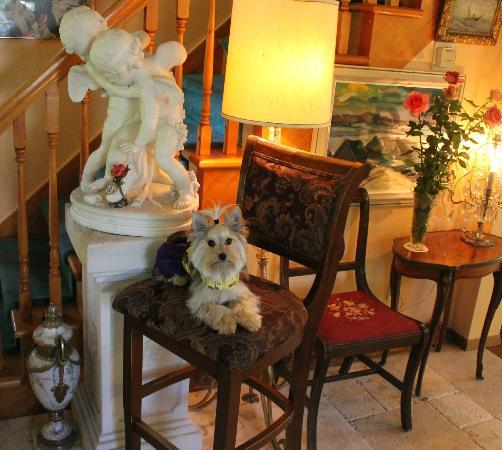 The Clover Field House B&B : Beautiful statues were everywhere