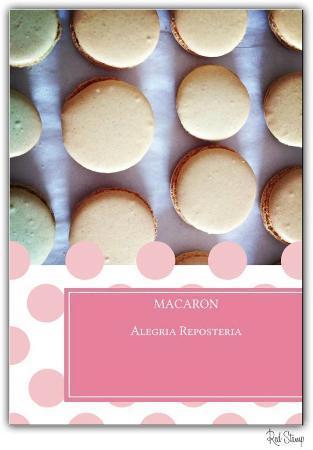 Alegria Reposteria: Macarons