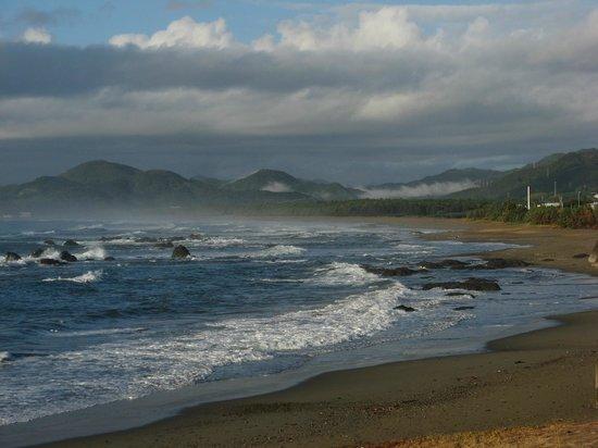 Kuroshio-cho, Japão: 普段は何もない綺麗な砂浜です。