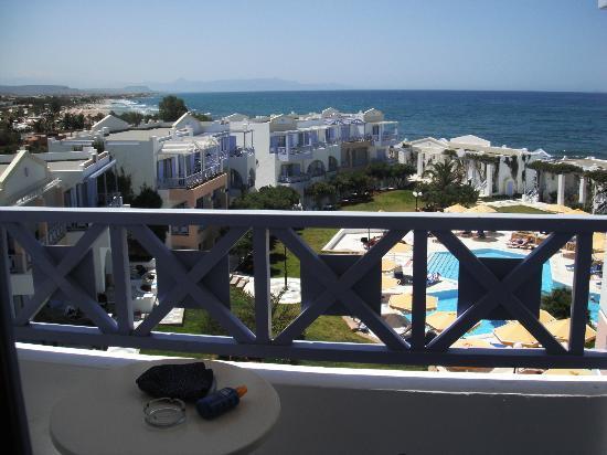 Anissaras, Grèce : blacony view