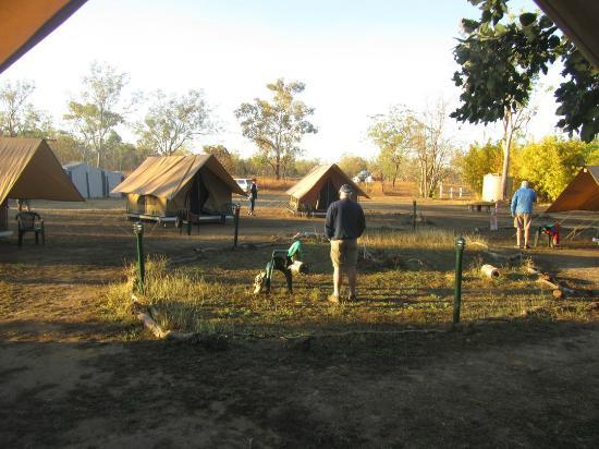 Drysdale River Station Camp morning