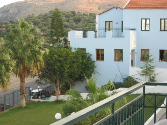 Camari Garden Apartments: View from 2nd floor apt