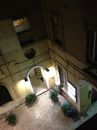 Hotel Amadeus:                   view from room 228