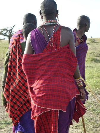 Porini Rhino Camp: Masai