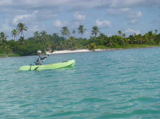 Casa Paraiso: Free use of kayaks, can snorkel from the kayak