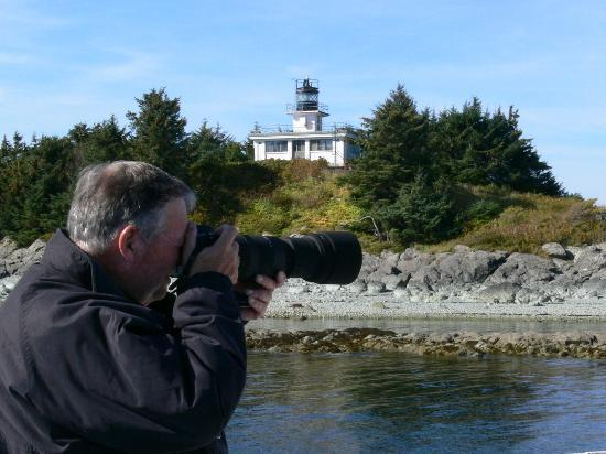 Guard Island Lighthouse wildlife photographer