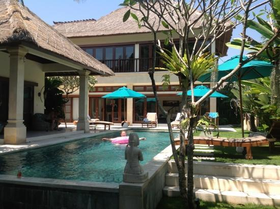 Villa Bugis: gorgeous villa intan
