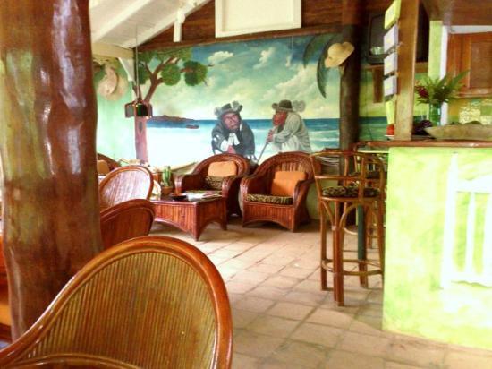 Hotel Casa Robinson : particolare del bar / sala colazioni