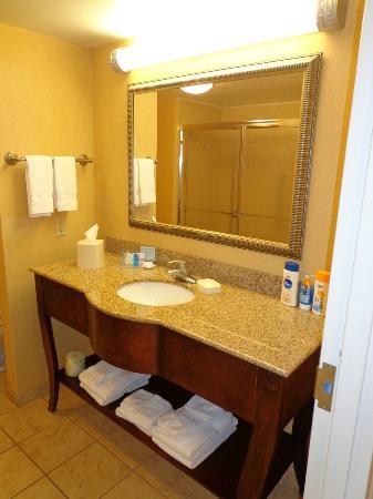 Hampton Inn & Suites Navarre: Bathroom