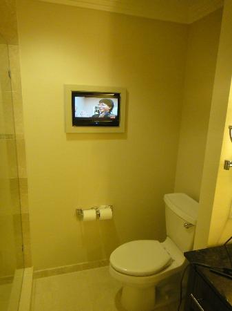 Loews Atlanta Hotel: Loved having a TV in the bathroom