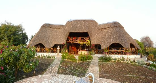 Manyara Wildlife Safari Camp: Main Lodge