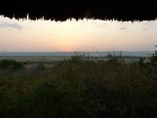 Manyara Wildlife Safari Camp: Lake Manyara Sunset
