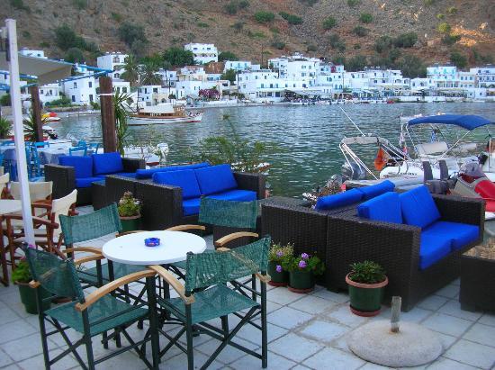 Daskalogiannis Hotel: Waterfront Internet Cafe