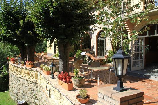 Hotel & Spa La Central: El jardin