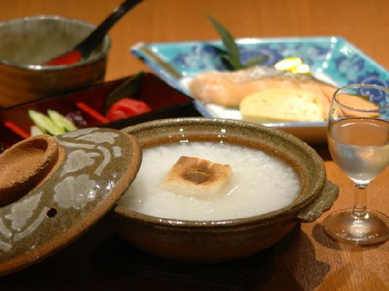 Yokkaichi City Hotel: 朝食(朝粥)例