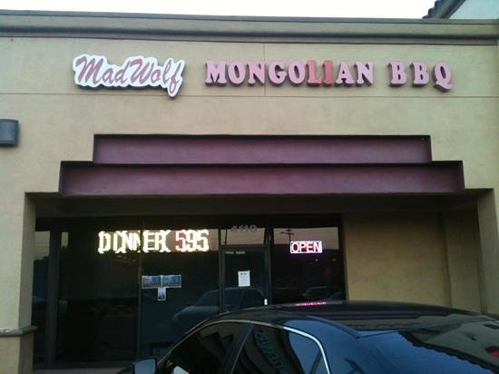 Mad Wolf Mongolian Barbecue: modest facility