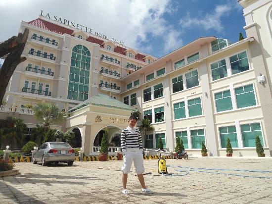 La Sapinette Hotel Dalat: hotel view