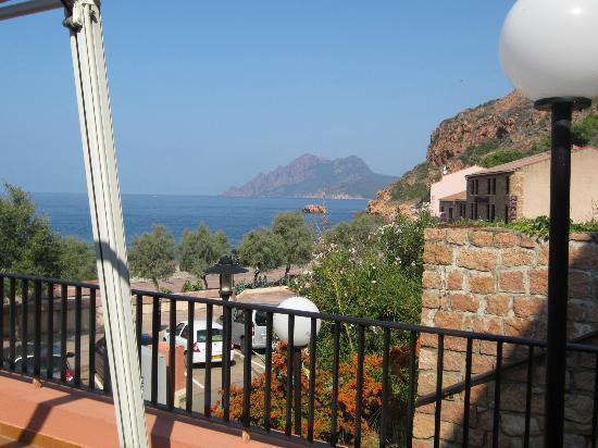 Hotel Kalliste: vue de la terrasse